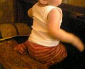 赤ちゃんの正座
