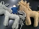 馬編みぐるみ